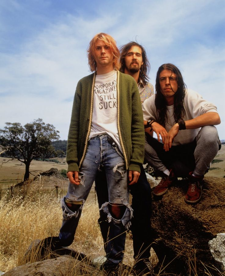 Rock Band Nirvana — Image by © Mark Seliger/CORBIS OUTLINE