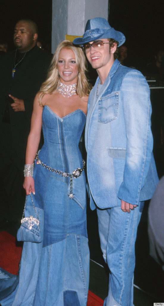 Justin Timberlake e Britney Spears all Jeans