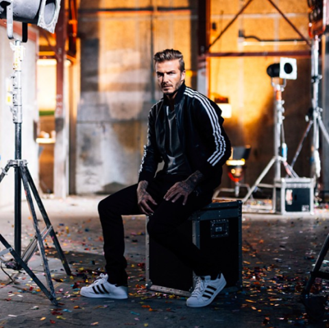 Adidas superstar Beckham