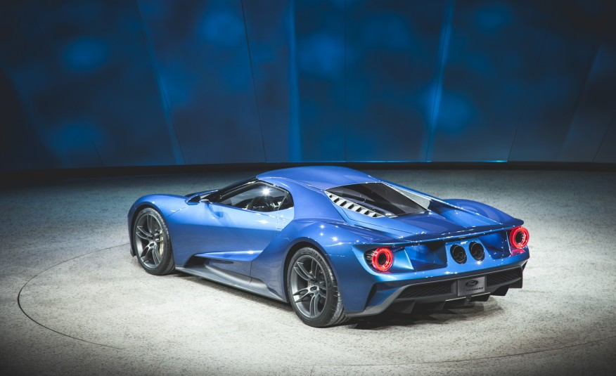 Ford GT 17 carro