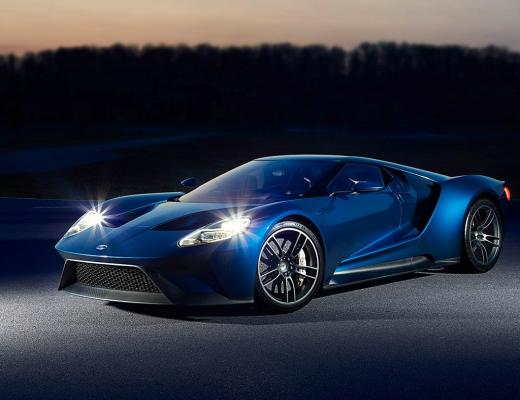 "Ford GT – O ""Supercarro mais bonito do ano"""
