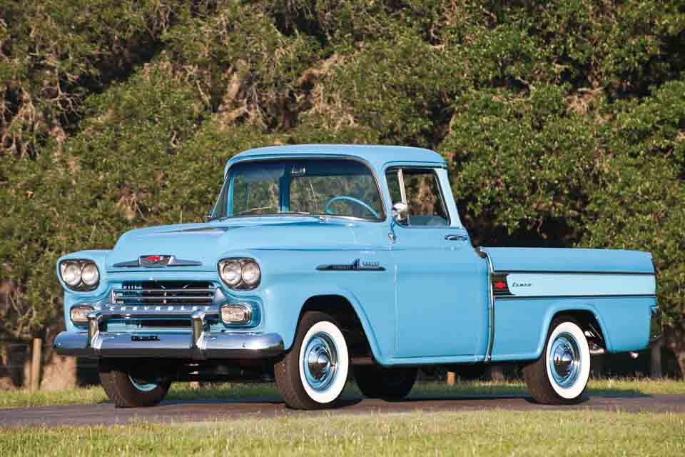 Chevrolet cameo carrier 1958
