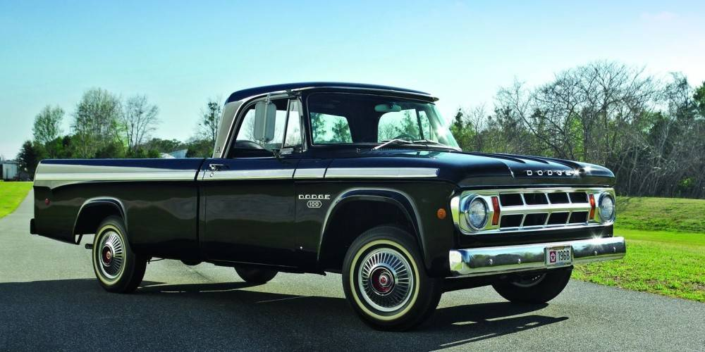 Dodge D100 Sweptline - 1968