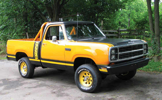 Dodge W150 Macho Power Wagon - 1975