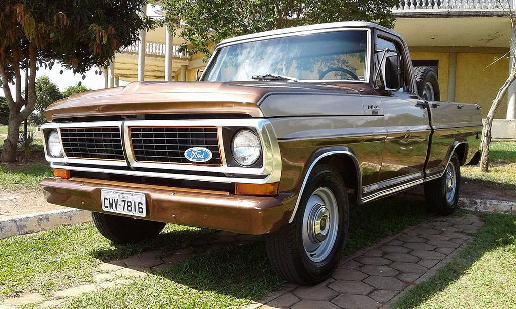 Ford F 1000 - 1985
