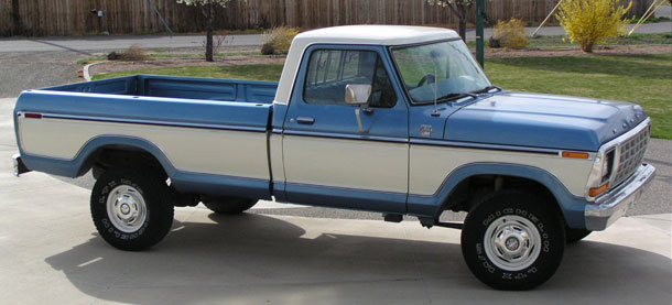 Ford F 150 4x4 - 1979