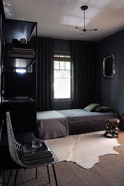 Dark Bedroom Ideas For Men Man Cave