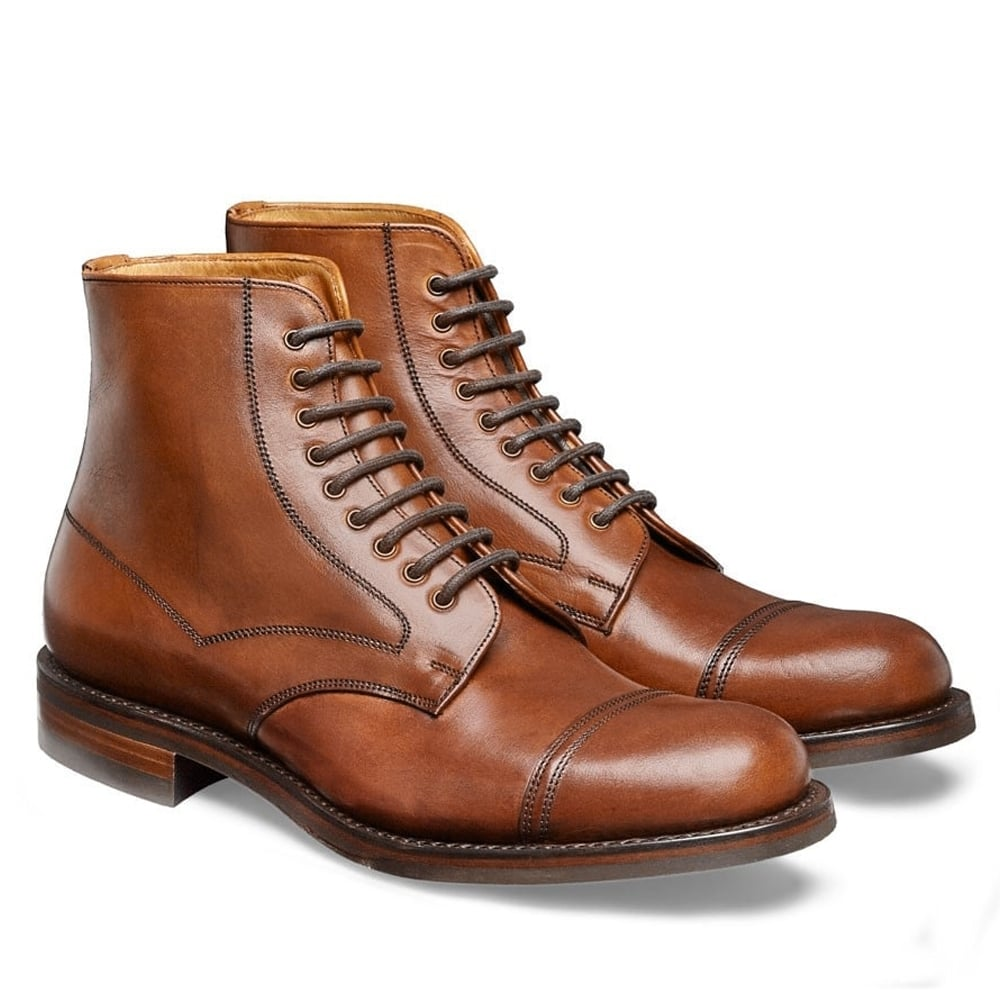 Derby-boots-marrom
