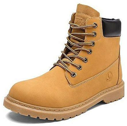 Work-Boots-yellow