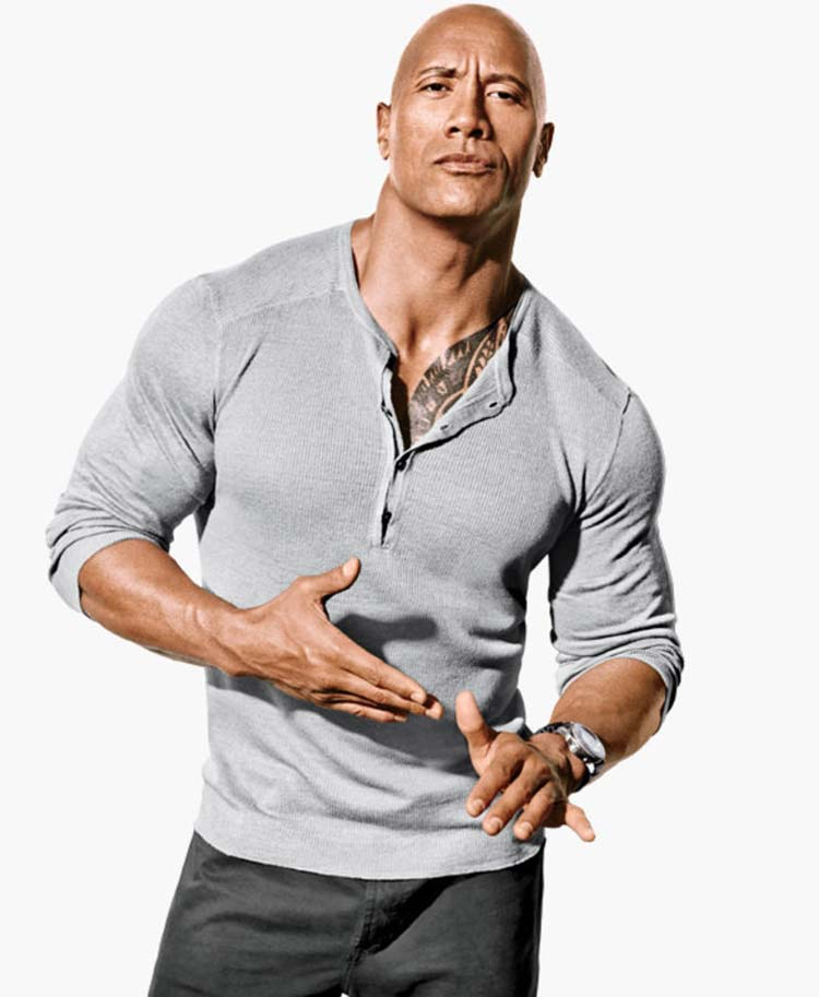 Camisa Henley The Rock